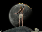 Artemis : Moon Pose